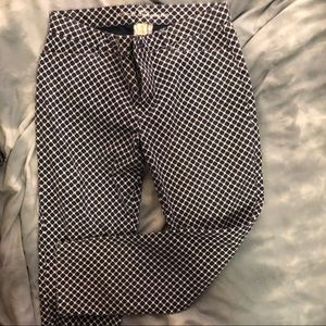 Cropped patterned pant